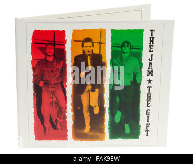 The Jam, The Gift , Sixth and Final Album Released March 1982 - Stock Photo