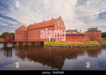 Image of Landskrona Citadel, old fort and prison in Landskrona, Sweden.