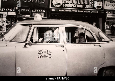 Robert Frank, pictures of the The Americans book at Metropolitan Museum of Art. N.Y.C., 1951 and 1954. - Stock Photo