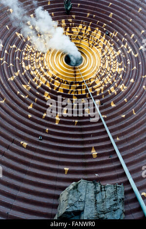 Metronome is a large public art installation located along the south end of Union Square in New York City. Hand - Stock Photo