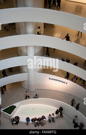 New York: The Solomon R. Guggenheim Museum has prepared an unprecedented exhibition of works by Russian artist Vasily - Stock Photo