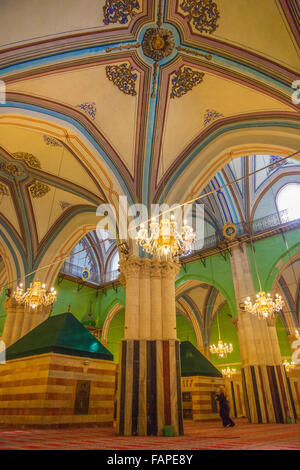 The Ibrahimi mosque / Cave of the Patriarchs Hebron - Stock Photo