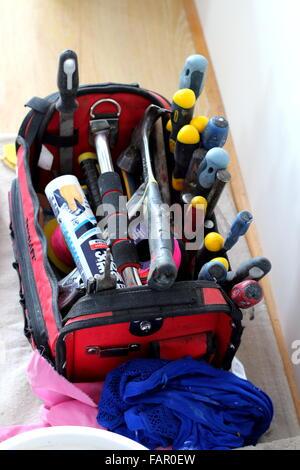 Tekraft tools bag - Stock Photo