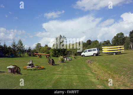 in vilnius lithuania august 29 2015 tourist kayaks in the trailer for transportation - Rustic Hotel 2015