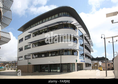 Hastings Health Centre, a large, new, multi-discipline Health Centre - part of the new Station Plaza development - Stock Photo