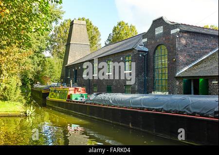 Flint mill at Stoke on Trent - Stock Photo