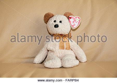 Original Ty Beanie Baby soft toy - Stock Photo
