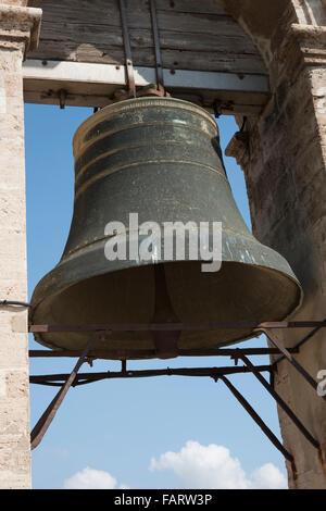 The main bell of Catedral de Valencia, Valencia, Spain. - Stock Photo