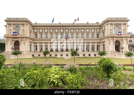 Ministry of Foreign Affairs building in Paris. - Stock Photo