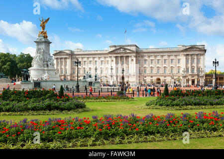 London, Buckingham Palace - Stock Photo