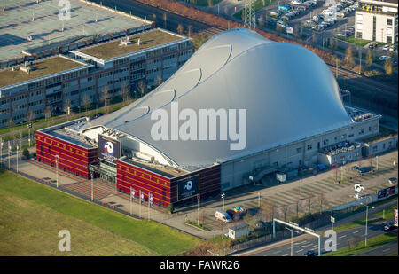 Metronom Theater, theater tent, Centro, Oberhausen, Ruhr district, North Rhine-Westphalia, Germany - Stock Photo