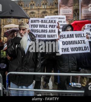 FILE IMAGES: London, UK. 5th January, 2016. File Images from 14-02-2014: British-based Islamist Shah Jahan Kahn - Stock Photo