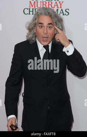 A Very Murray Christmas New York Premiere - Red Carpet Arrivals  Featuring: Mitch Glazer Where: New York, New York, - Stock Photo