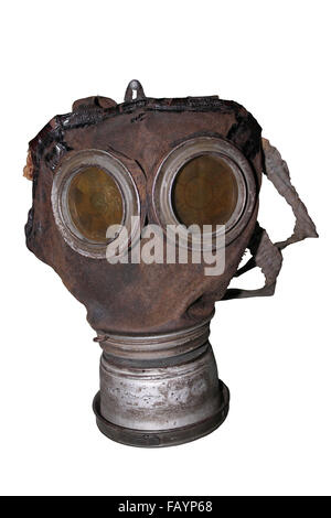 German Model 1917 Gas Mask - Stock Photo
