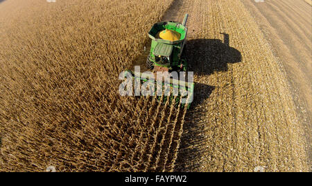 Aerial Agriculture - Stock Photo