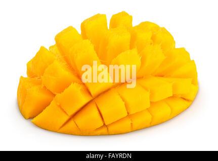 mango isolated - Stock Photo