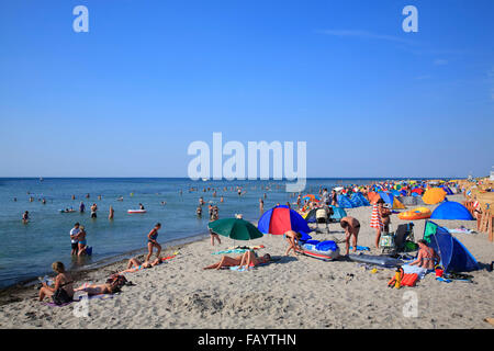 Poel island, Timmendorf beach, Baltic Sea, Mecklenburg Western Pomerania, Germany, Europe - Stock Photo