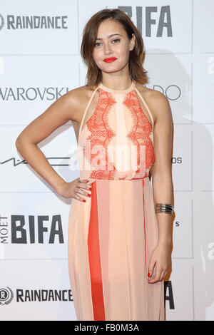 Moet British Independent Film Awards 2015 held at Old Billingsgate Market - Arrivals  Featuring: Ella Purnell Where: - Stock Photo