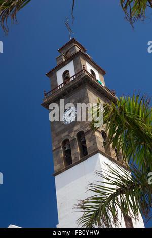 Church of Nuestra Señora de los Remedios, Buenavista del Norte, Tenerife - Stock Photo