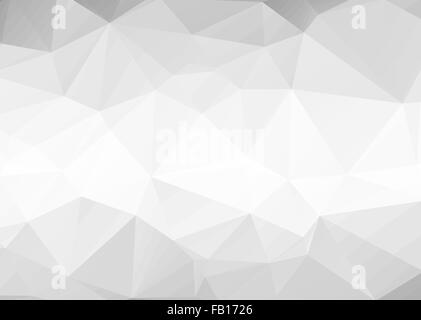 Vector abstract gray triangles background - Stock Photo