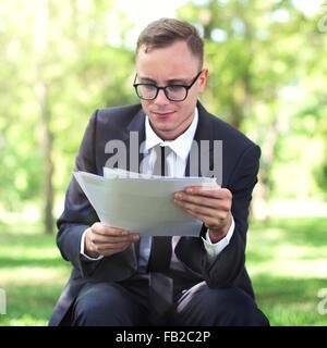 Businessman Stressful Sadness Failure Concept - Stock Photo