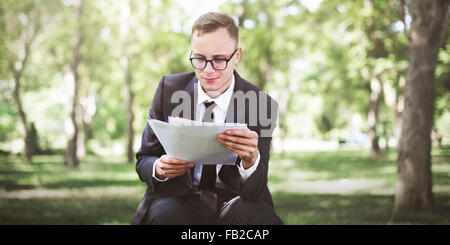 Businessman Stressful Sadness Failure Concept - Stock Photo