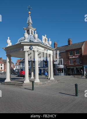 Beverley Bandstand, Market Place, Beverley, Yorkshire, England, UK. - Stock Photo