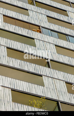 Urban living, Vienna Business Park, Wienerberg City, Wien, Vienna, Austria, 10. district - Stock Photo