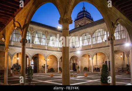 Hospital de Santiago built in the 16th century, Úbeda, Jaén province, Andalusia, Spain, Europe - Stock Photo
