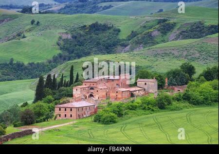 Toskana Dorf - Tuscany village 03 - Stock Photo