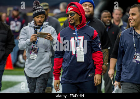 Houston, Texas, USA. 9th Jan, 2016. Rapper Lil Jon prior to an NFL playoff game between the Houston Texans and the - Stock Photo
