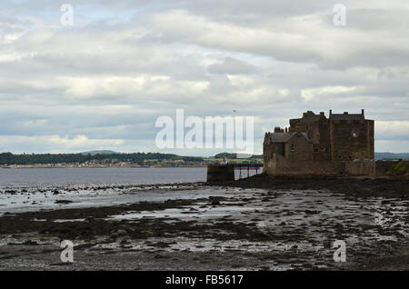 Blackness Castle on the Firth of Forth, Scotland - Stock Photo
