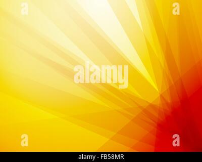 orange ray dark background - Stock Photo