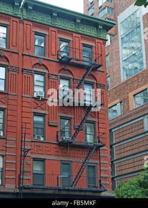 New York City, Nyc, the Big Apple, Manhattan, New York Bay, Hudson River, Atlantic Ocean, United States of America, - Stock Photo