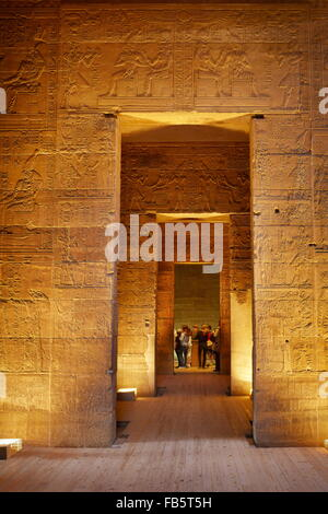 Egypt - Philae Island, The Temple of Isis, UNESCO - Stock Photo