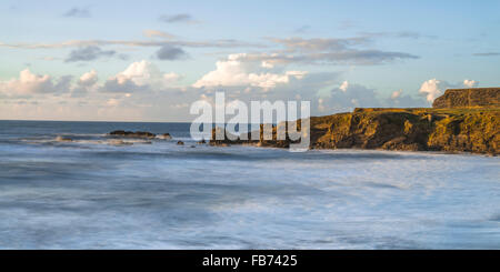 Hartland Cliffs - Stock Photo