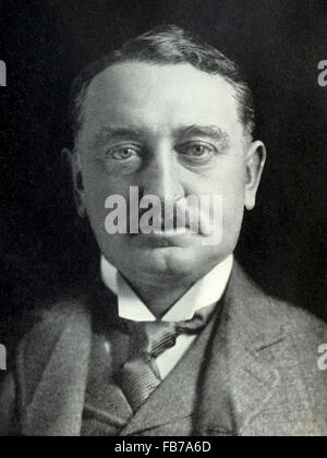 Cecil John Rhodes, British colonial and politician in South Africa - Stock Photo