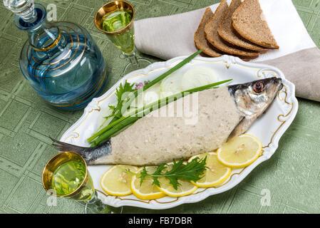 A traditional ashkenazi jewish dish made of deboned for Jewish fish dish