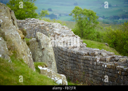 BBC Music day 'for the love of music'  Hadrian's Wall of Sound 2015 at English Heritage, Walltown Crags, Greenhead, - Stock Photo