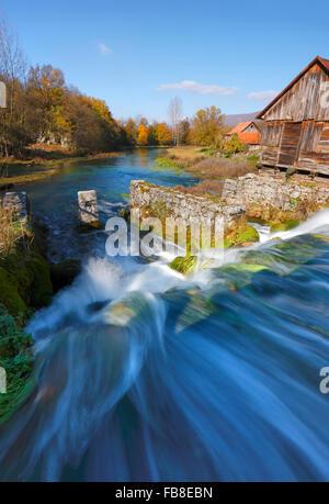 River Gacka landscape, Majerovo vrilo - Stock Photo