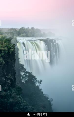 Victoria Falls, Zimbabwe - Stock Photo