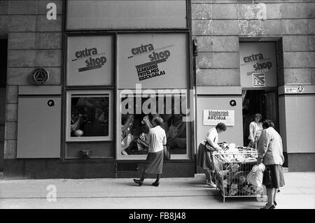 Glance on Bupapest at the time of the Nineties. -  1990  -  Hungary / Budapest  -  Glance on Bupapest at the time - Stock Photo