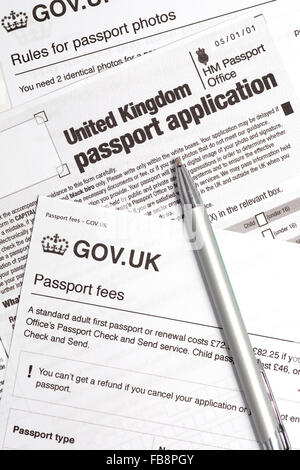 Passport Application Form Uk Applying For New Passport Office Travel