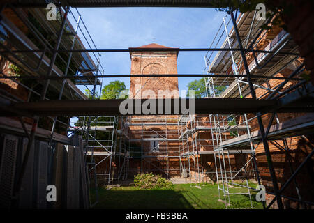 Dorfkirche (Village church), Lossow, Frankfurt (Oder), Germany - Stock Photo