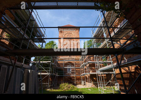 Dorfkirche (Village church), Lossow, Frankfurt (Oder), Germany - Stock Photo