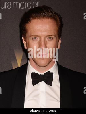 DAMIAN LEWIS  English actor  in January 2016. Photo Jeffrey Mayer - Stock Photo