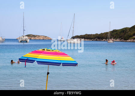 Atheras bay, Kefalonia island, Greece - Stock Photo