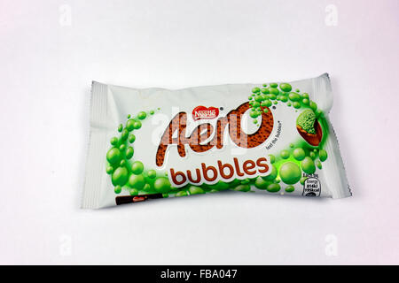 Mint Aero Bubbles. - Stock Photo