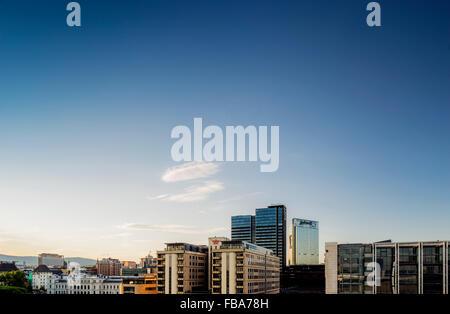 Norway, Oslo, Bjorvika, View of cityscape - Stock Photo