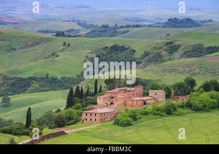 Toskana Dorf - Tuscany village 02 - Stock Photo